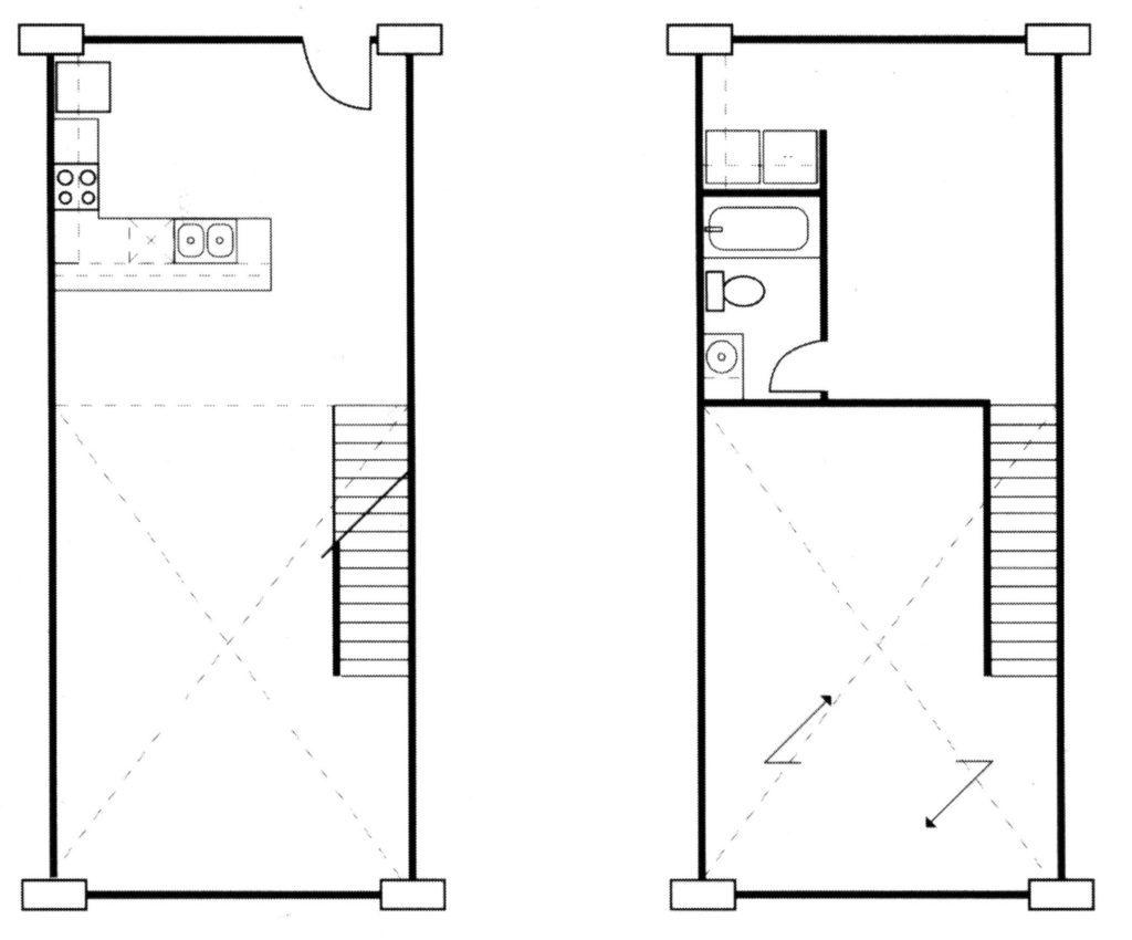 San Antonio apartments loft floor plan